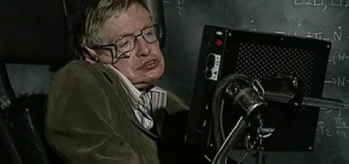 Stephen Hawking on TED